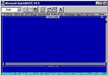 Environnement QuickBasic